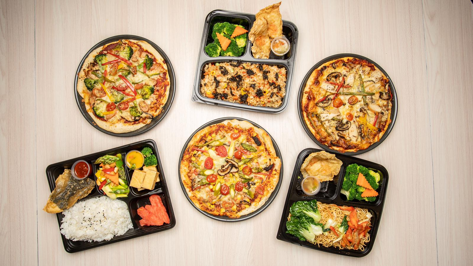 Bento Set/Pizza/Packet Meal